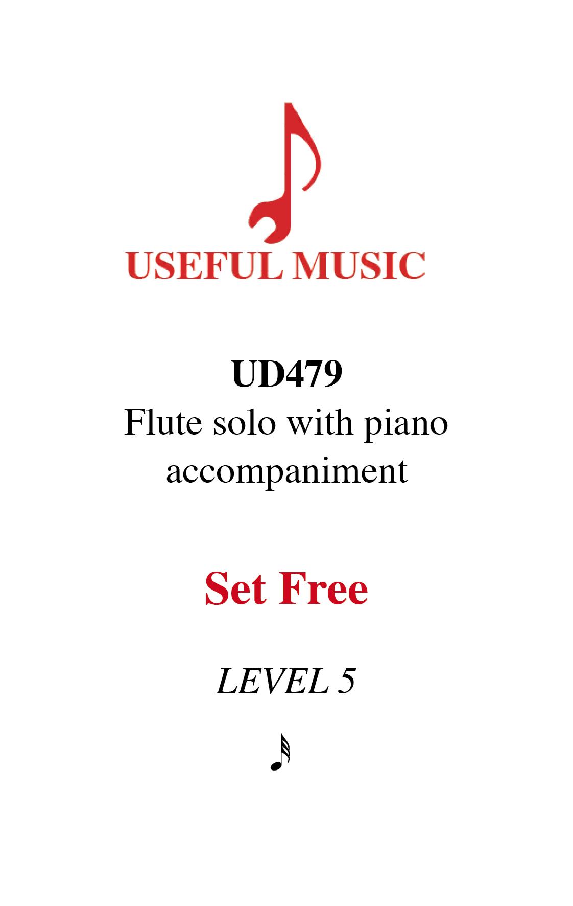 Set Free - flute with piano accompaniment