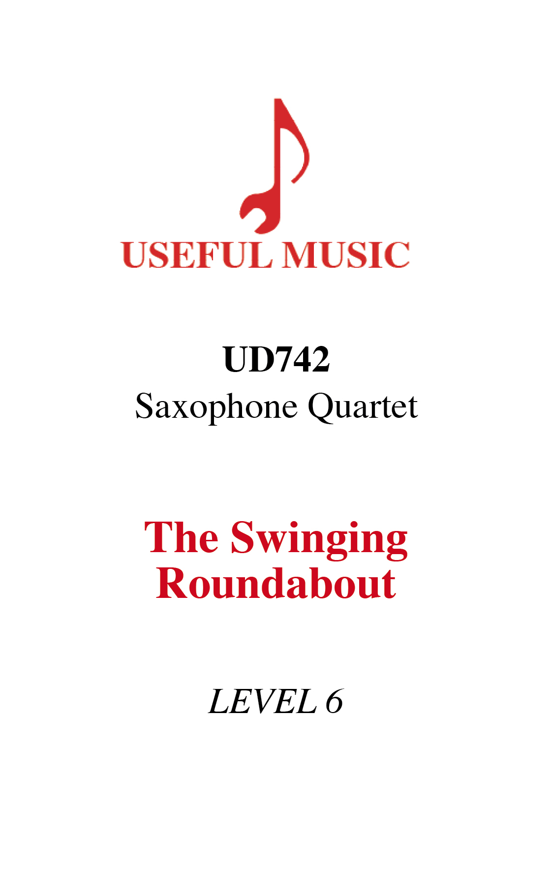 The Swinging Roundabout - saxophone quartet