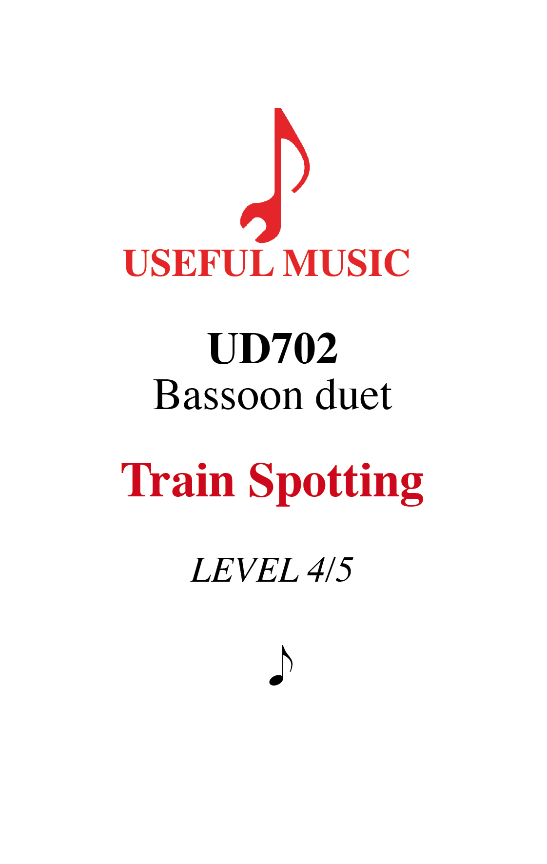Train Spotting - bassoon duet