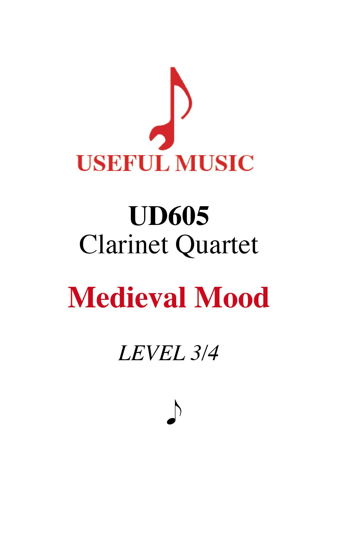 Medieval Mood - 4 Clarinets