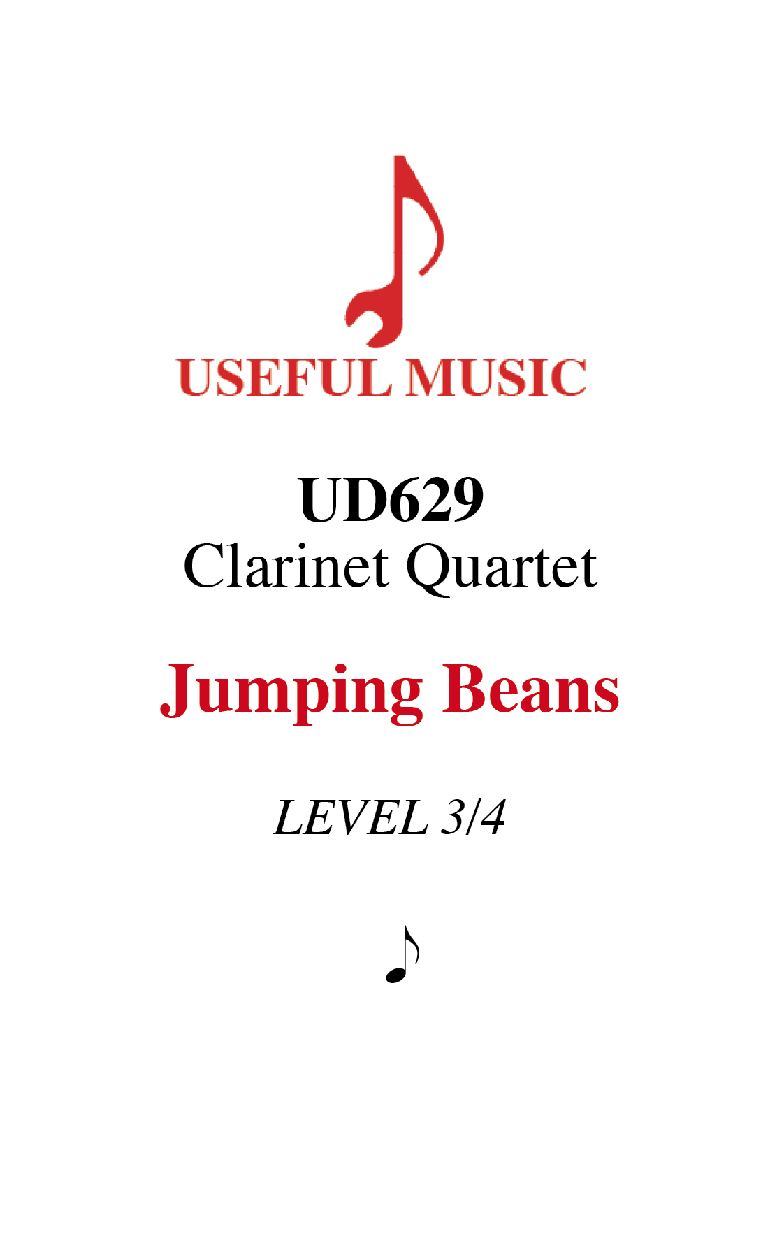 Jumping Beans - 4 Clarinets