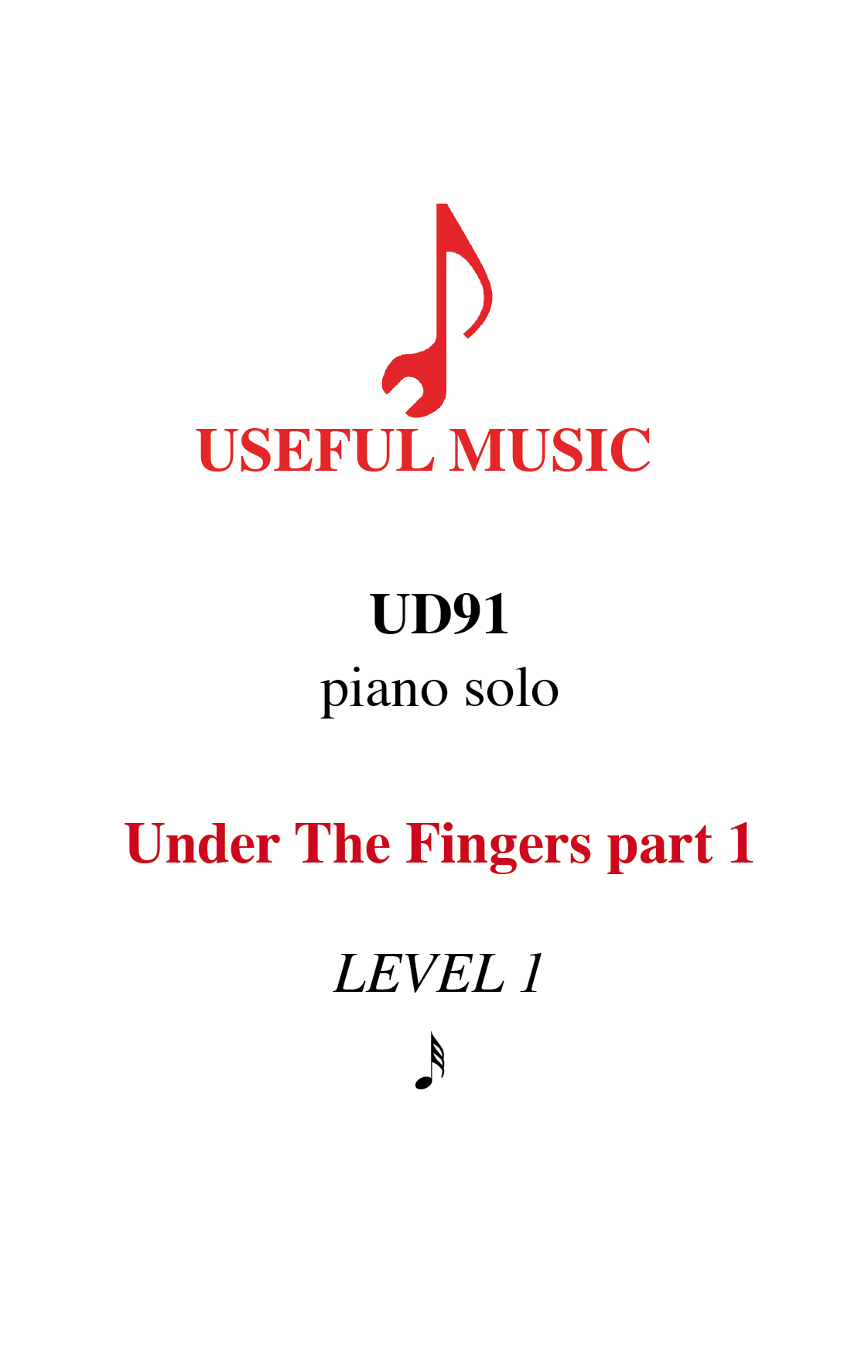 Under the Fingers part 1