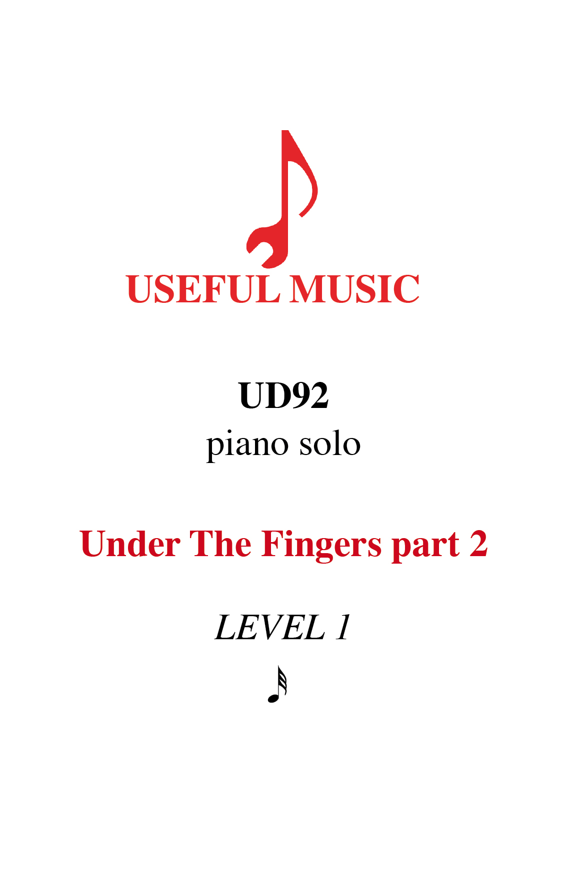 Under the Fingers part 2