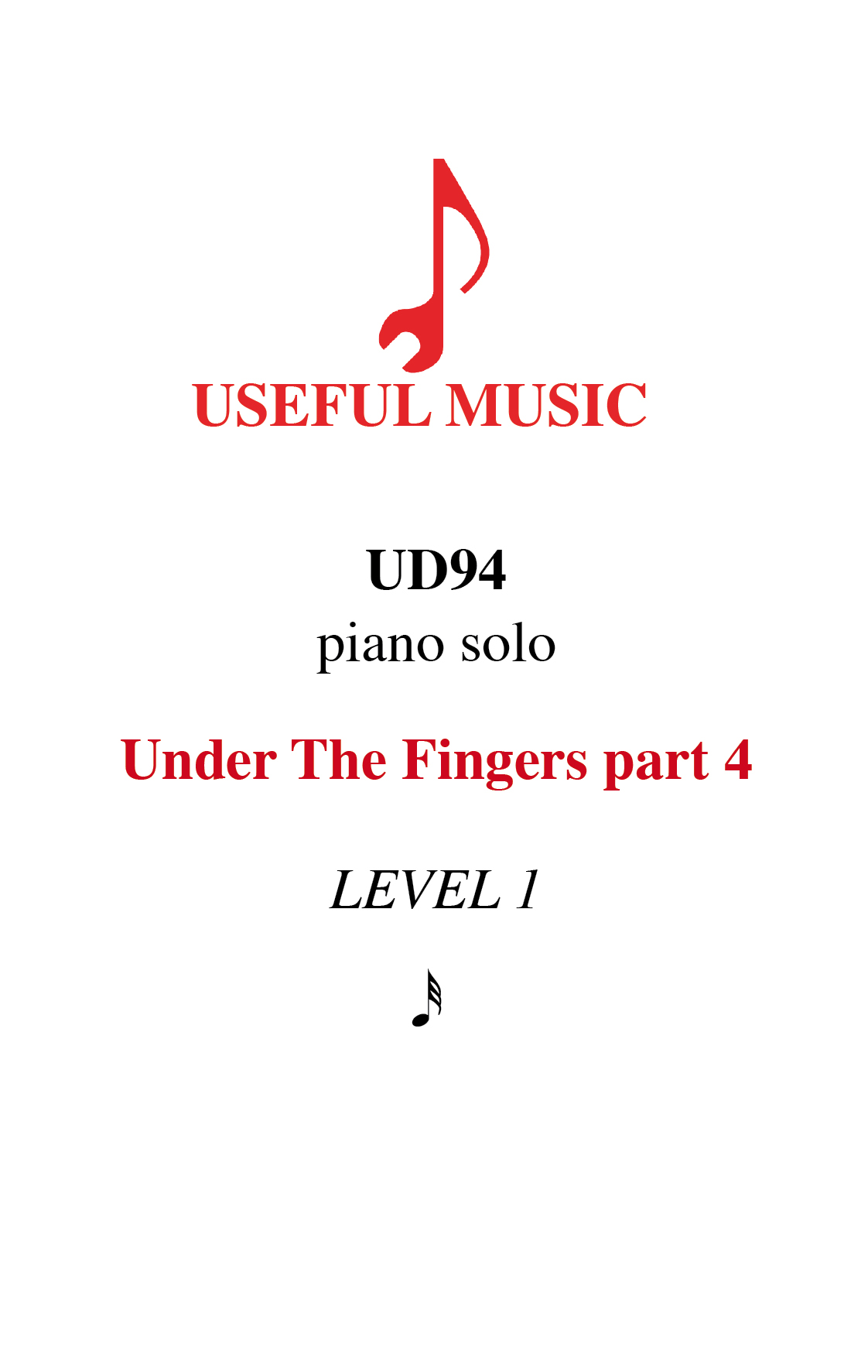 Under the Fingers part 4