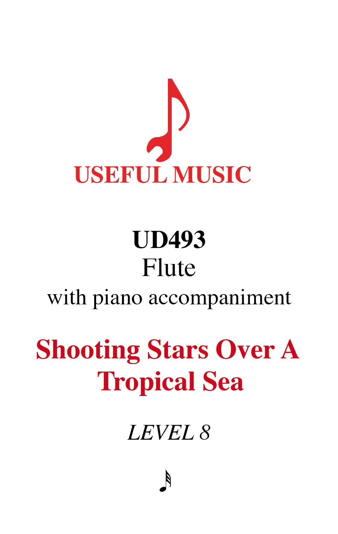 Shooting Stars over a Tropical Sea - flute with piano accompaniment