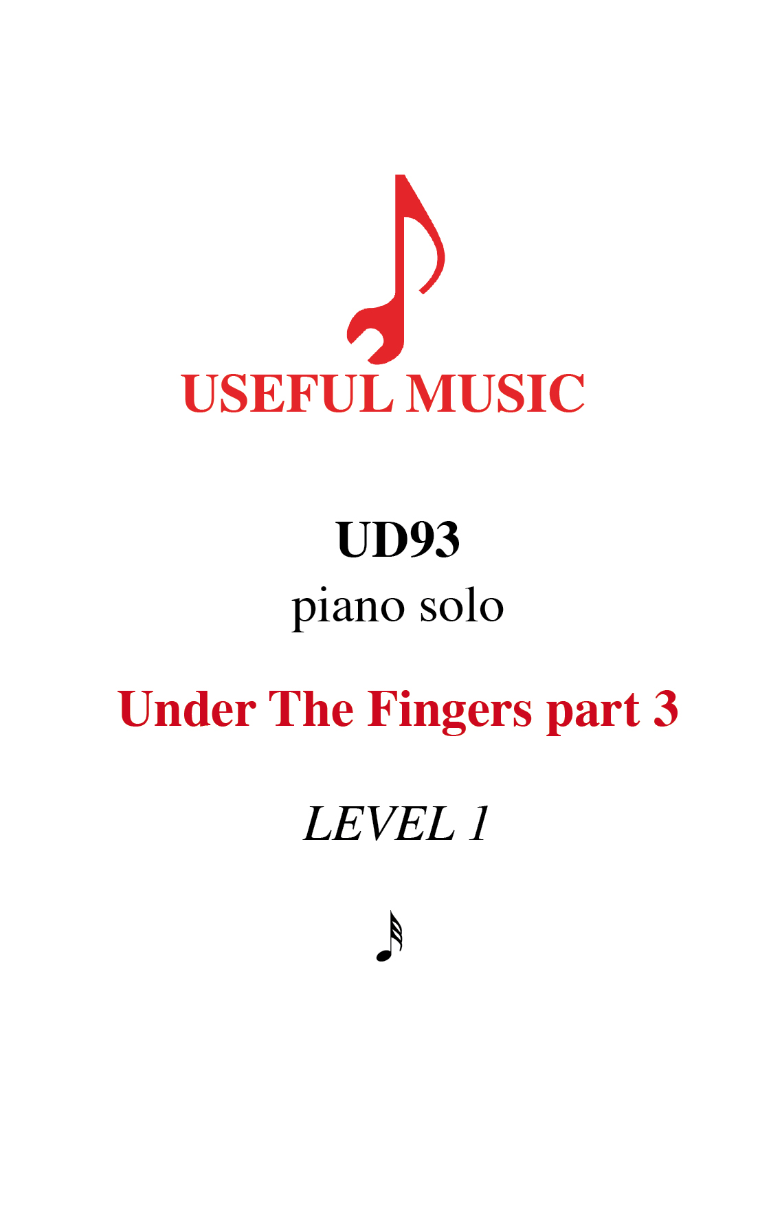Under the Fingers part 3