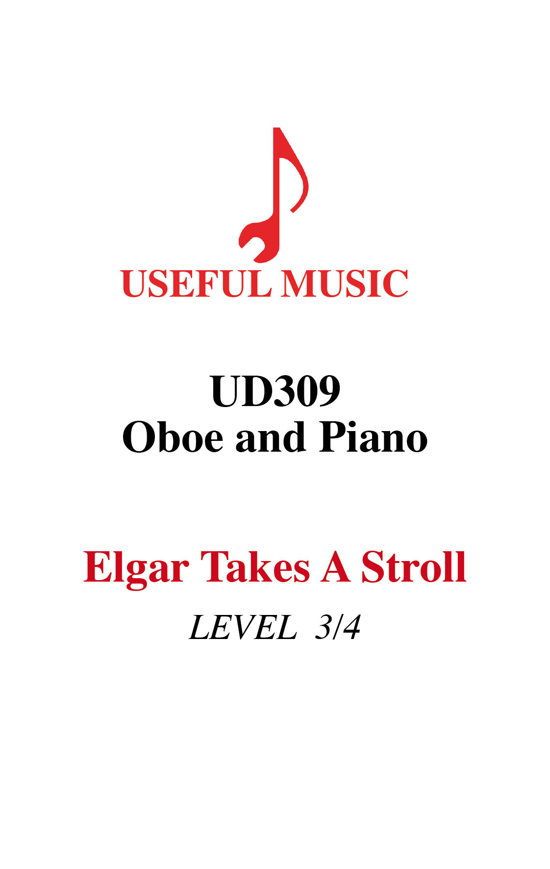 Elgar Takes a Stroll – oboe with piano accompaniment