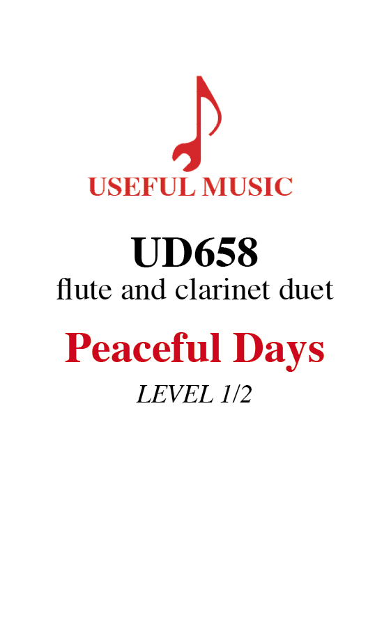 Peaceful Days - flute and clarinet duet