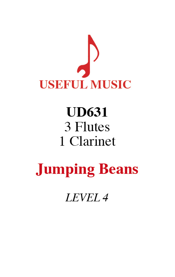 Jumping Beans - 3 flutes 1 clarinet