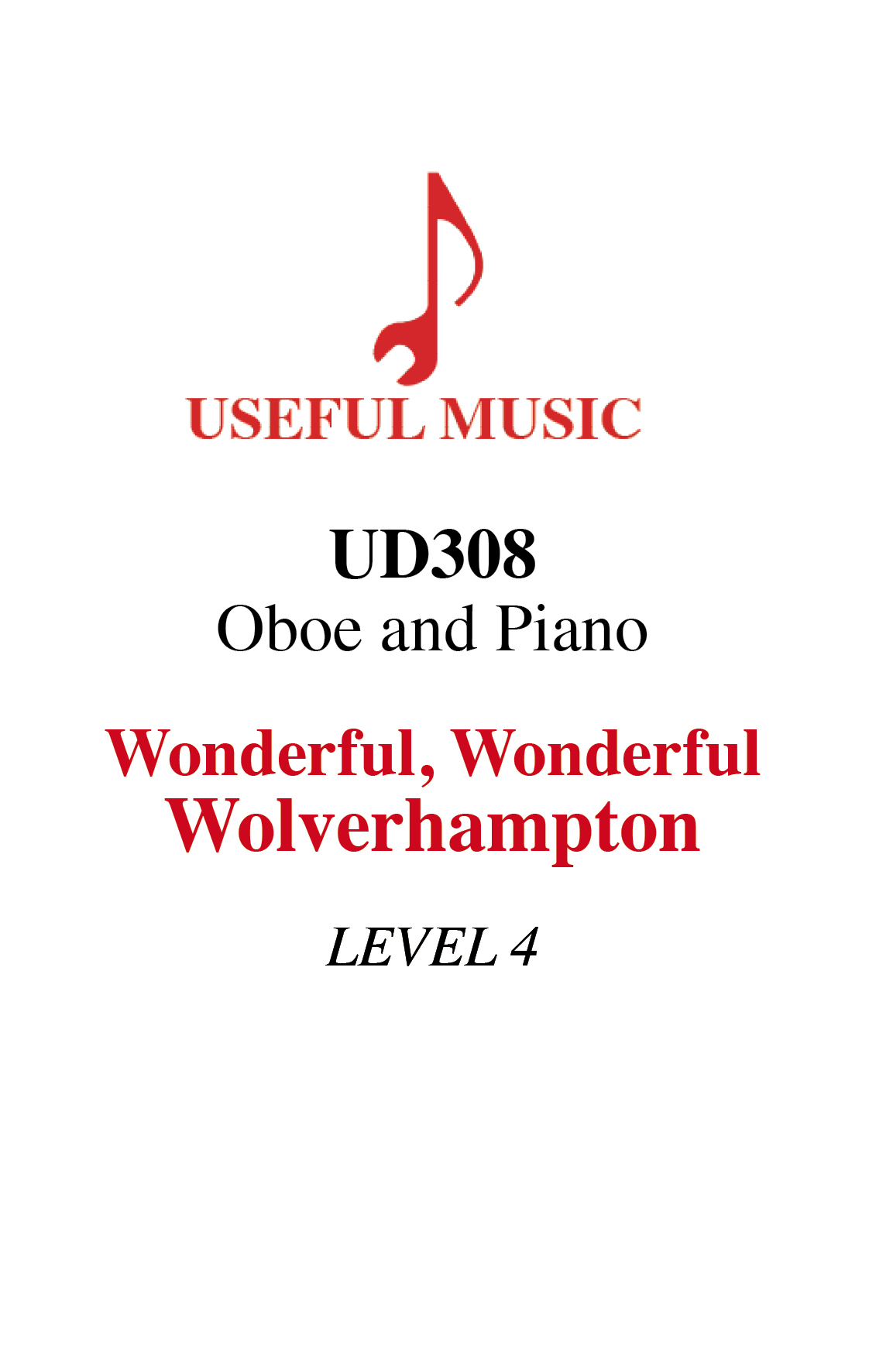 Wonderful Wonderful Wolverhampton – oboe and piano