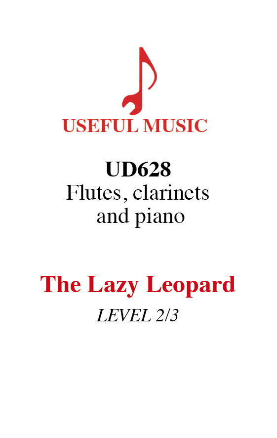 The Lazy Leopard - flutes and clarinets, piano optonal