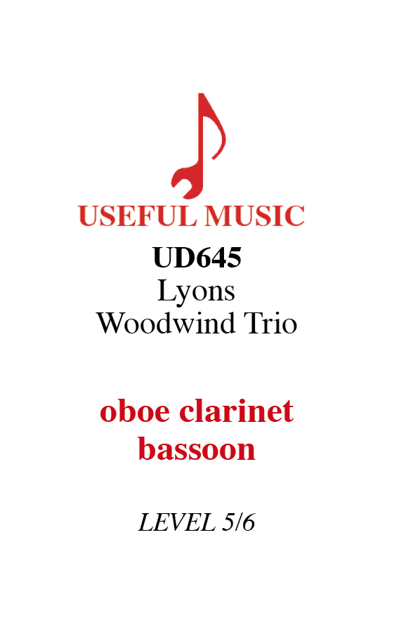 Lyons Woodwind Trio