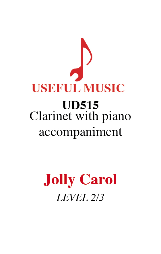 Jolly Carol - Clarinet with piano accompaniment