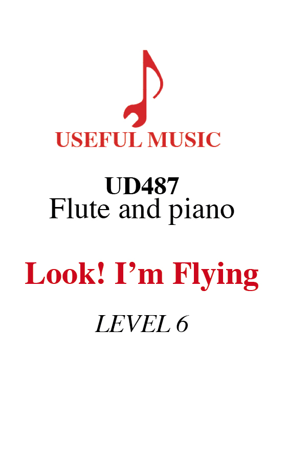 Look! I'm Flying - flute with piano accompaniment