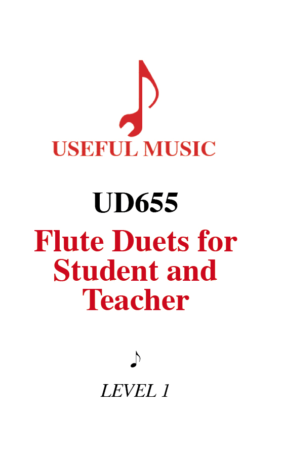 12 flute duets for teacher and students