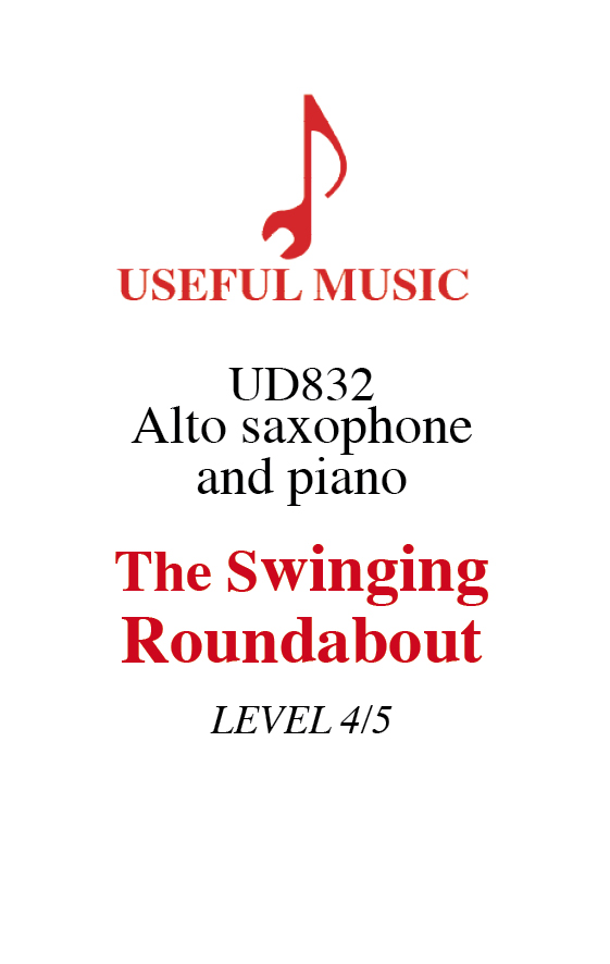 The Swinging Roundabout for alto sax and piano