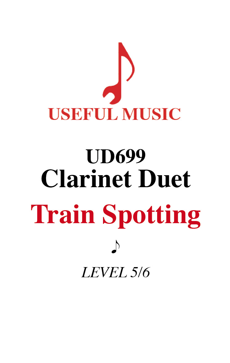 Train Spotting - clarinet duet