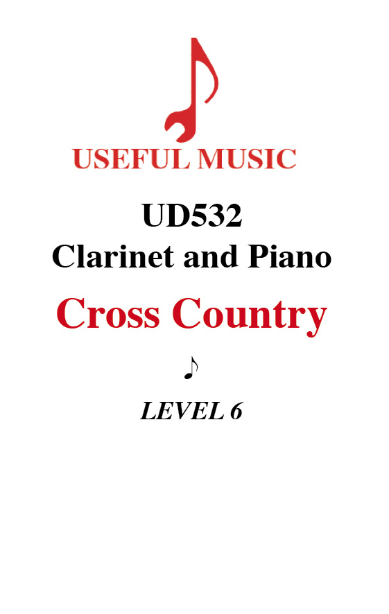 Cross Country - Clarinet with piano accompaniment