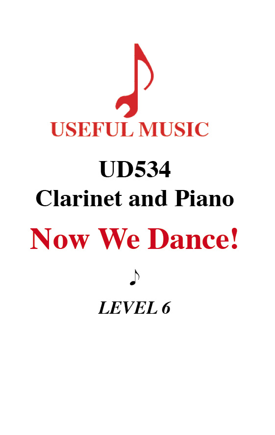 Now We Dance - Clarinet with piano accompaniment
