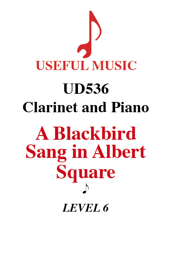 A Blackbird Sang in Albert Square - Clarinet with piano accompaniment