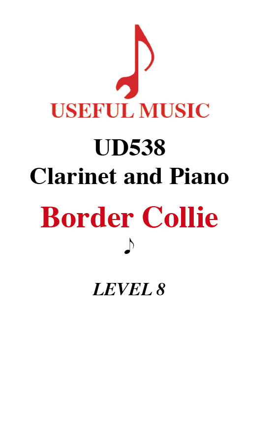 Border Collie - Clarinet with piano accompaniment