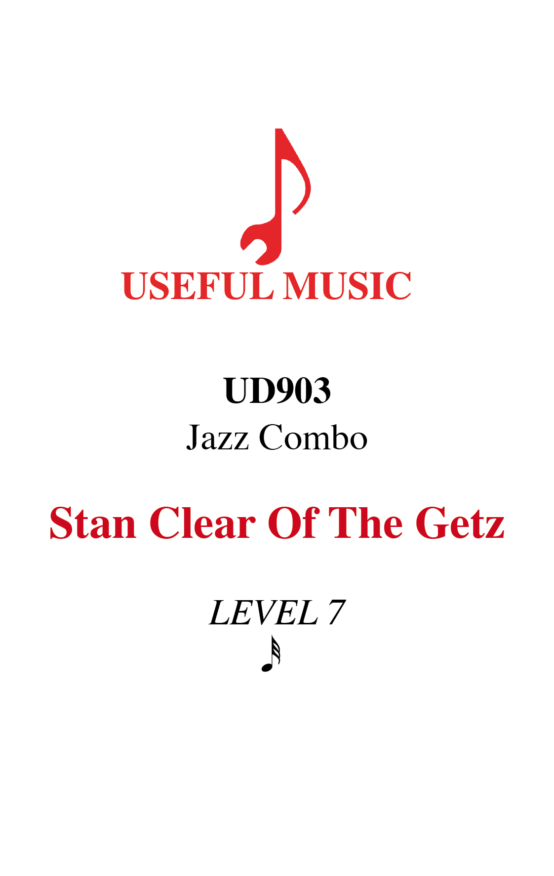 Stan Clear of the Getz - Jazz Combo