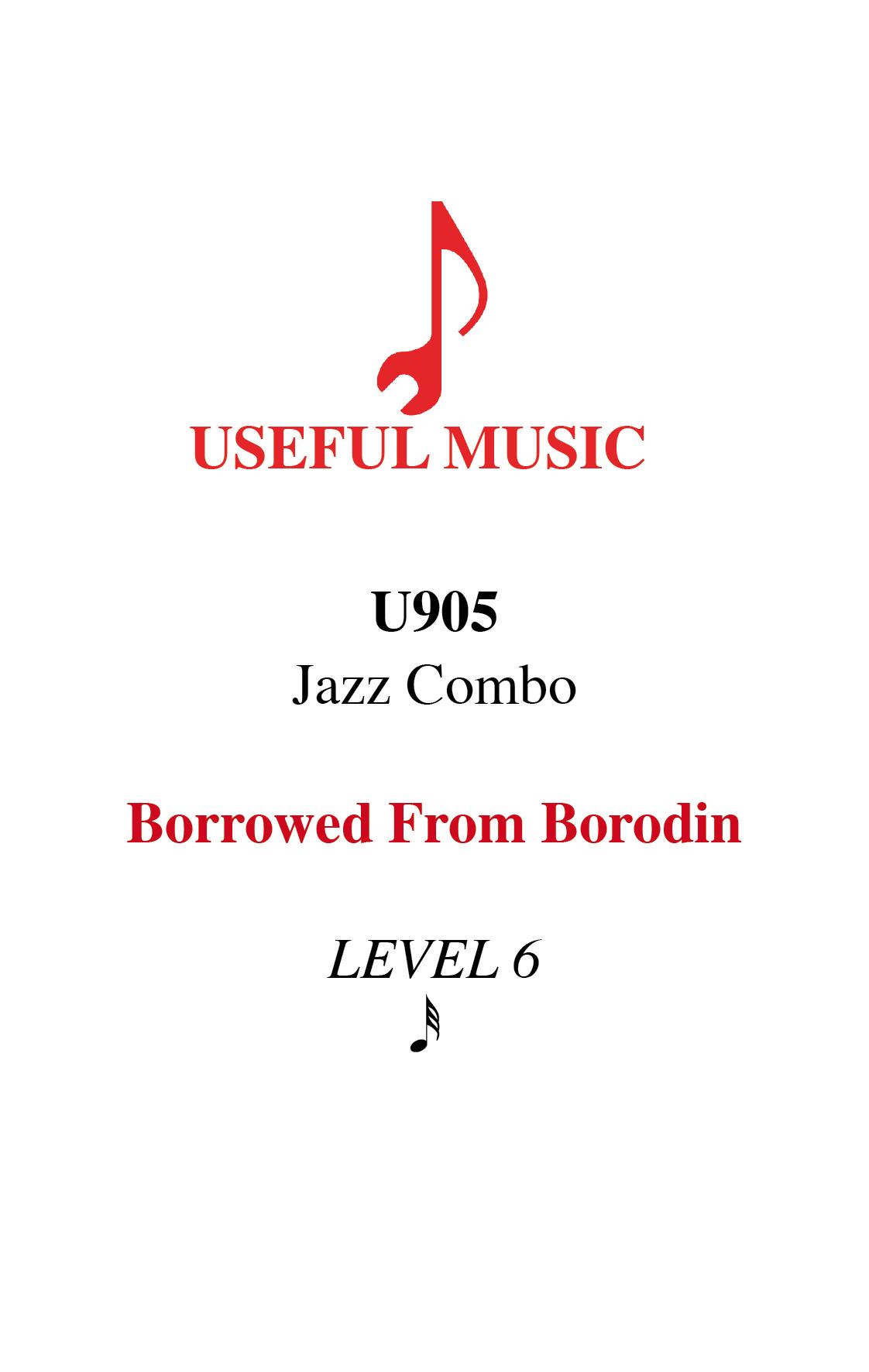 Borrowed from Borodin - Jazz Combo