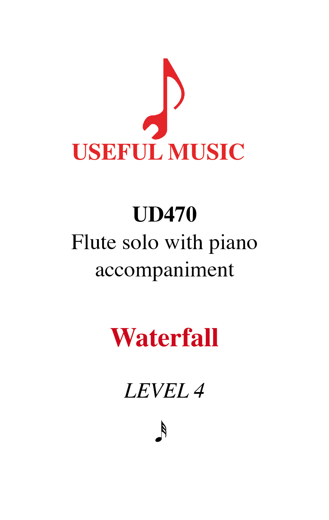 Waterfall - flute with piano accompaniment